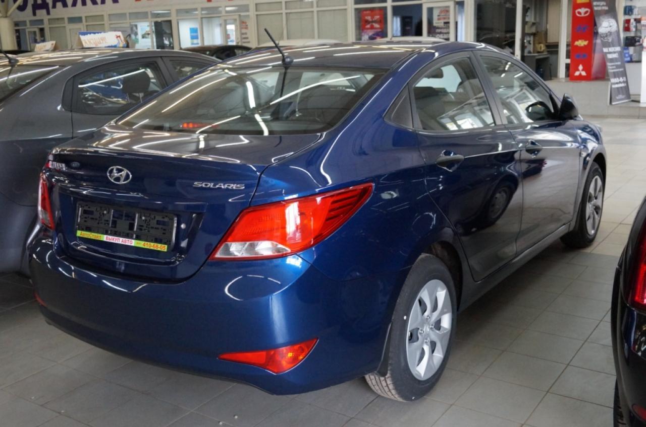 ИзображениеHyundai Solaris Sedan